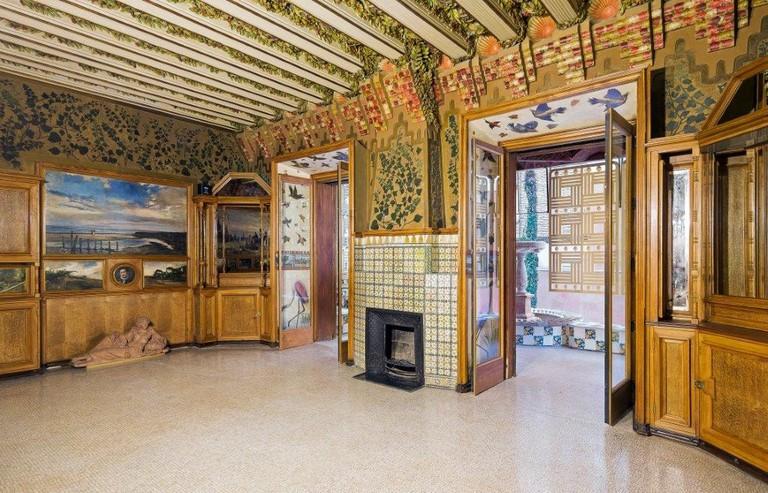 The interior of Casa Vicens