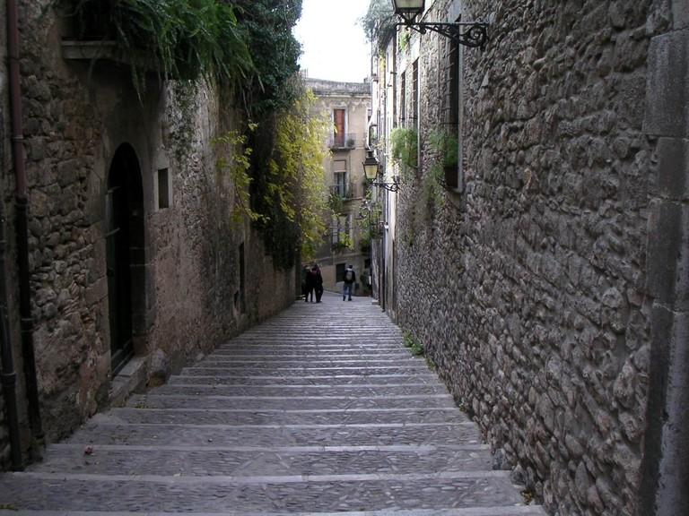 Carrer de Call, Girona | ©Aylaross / Wikimedia commons