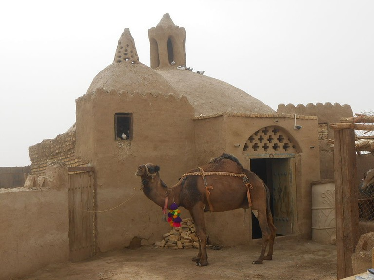 The camel mill in Varzaneh was once used to grind wheat