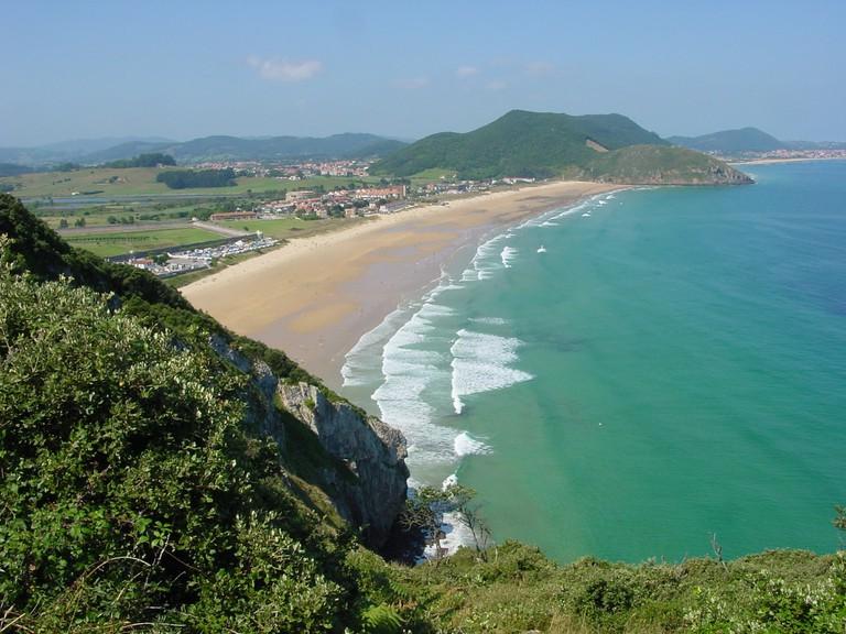 Playa Berria, Cantabria