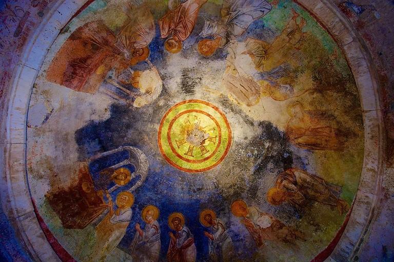 Ceiling fresco, St. Nicholas Church, Demre