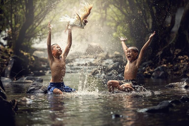 Lao Children | © Sasint/Pixabay