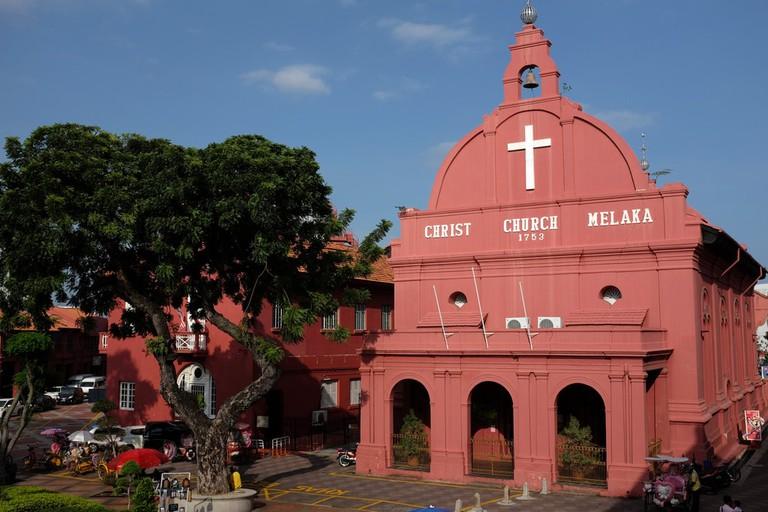 Christ Church Melaka at Dutch Square, Melaka