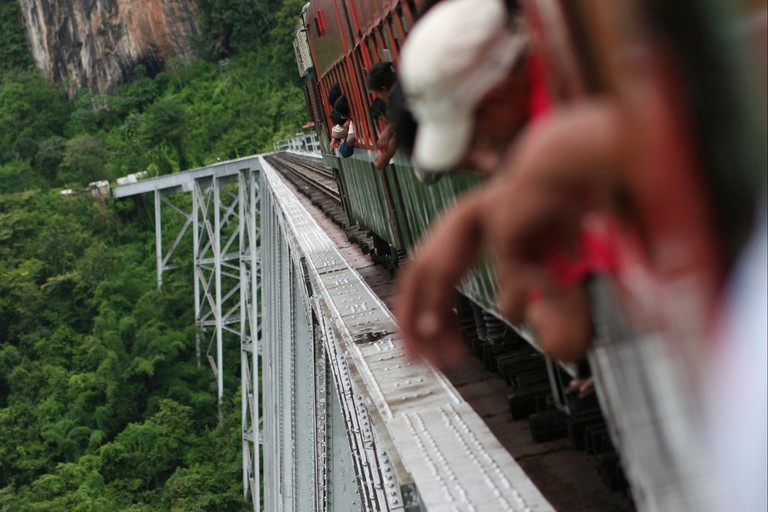 Crossing-the-Gokteik-Viaduct-Myanmar