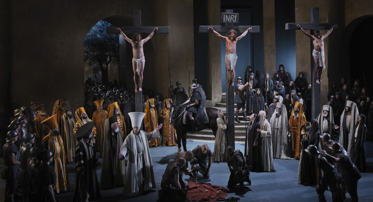 Crucifixion, Passion Play 2010
