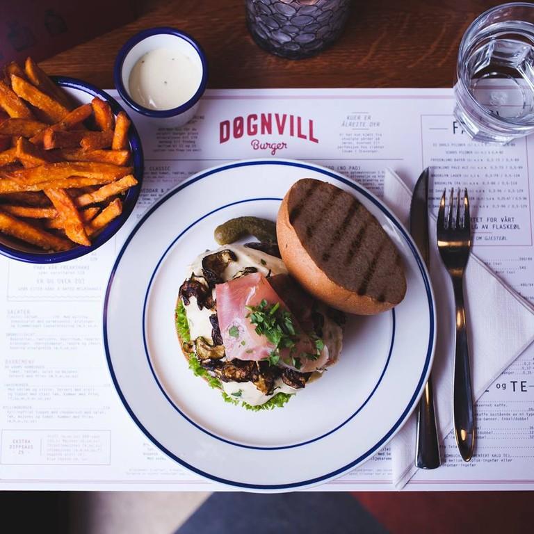 Døgnvill Burger Stavanger | Courtesy of Døgnvill Burger Stavanger