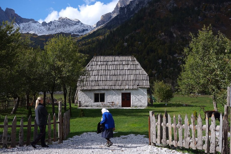 A picturesque destination in the Valbona Valley