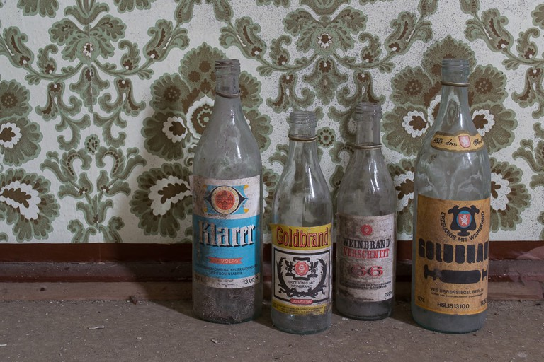 Bottles left from generations past