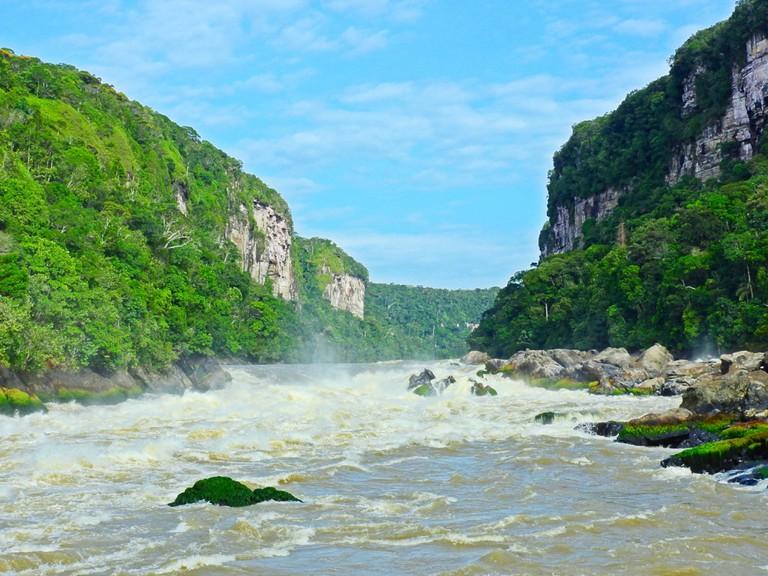 The Devil's Canyon in Araracuara