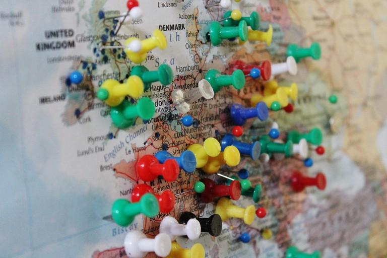 European pinpoints