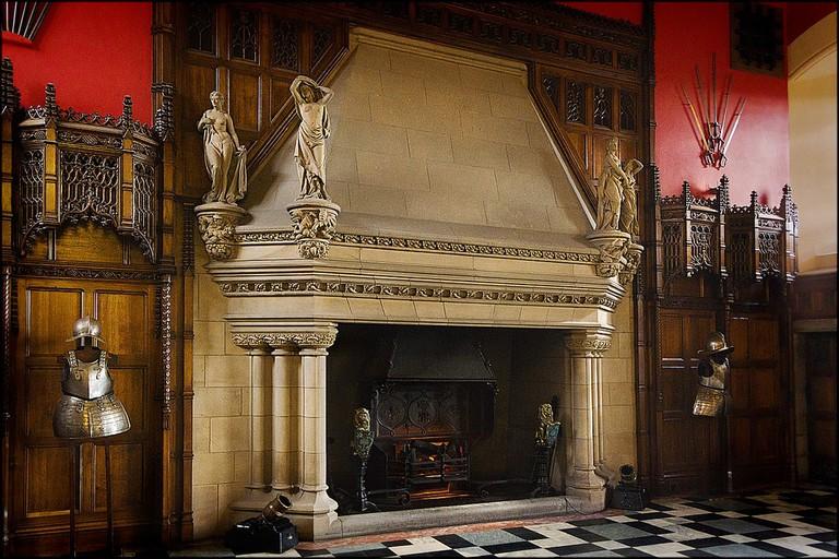 Fireplace, Great Hall, Edinburgh Castle | © dun_deagh / Flickr