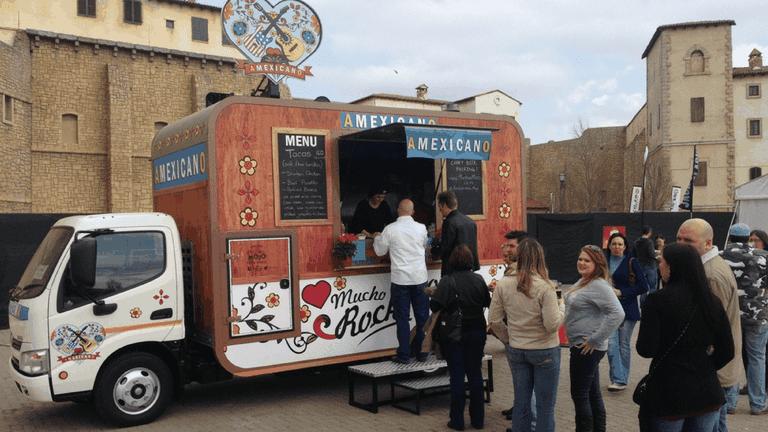 Amexicano food truck