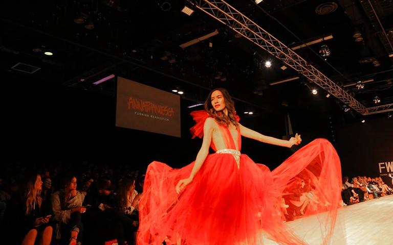 Anna Francesca Runway at Fashion Week Panama