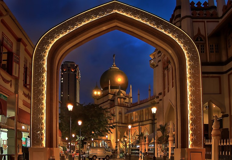 Gateway to Sultan Mosque
