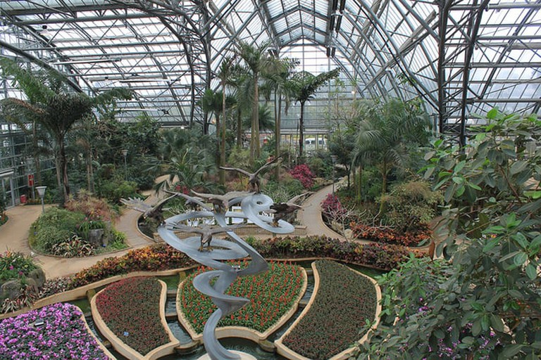 The Glasshouse at The National Botanic Garden of Wales