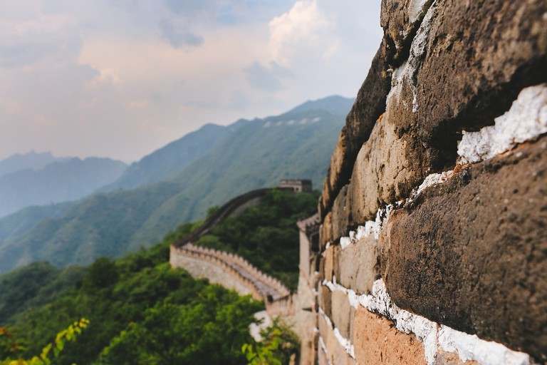 UNESCO World Heritage Site the Great Wall of China