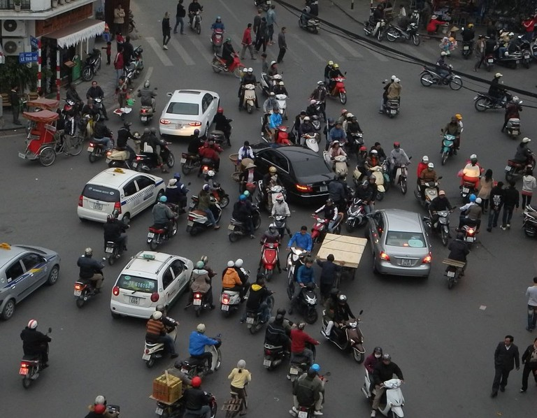 It's madness on the streets in Vietnam