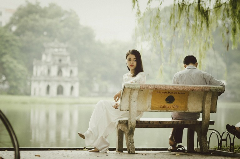 A couple in Vietnam