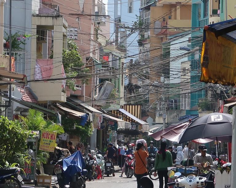 Ho Chi Minh City's neighborhoods