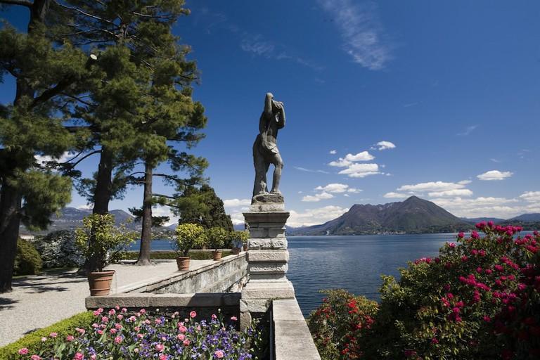 View of Lake Maggiore from the gardens of Palazzo Borromeo on Isola Bella | Courtesy Palazzo Borromeo/Isola Bella