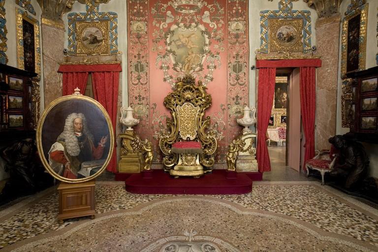 An interior of Palazzo Borromeo | Courtesy Palazzo Borromeo/Isola Bella