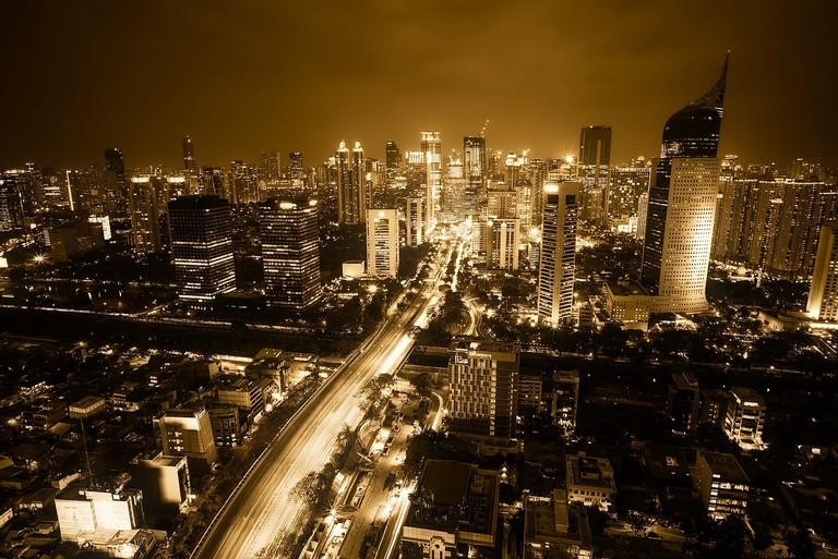 Jakarta at night│