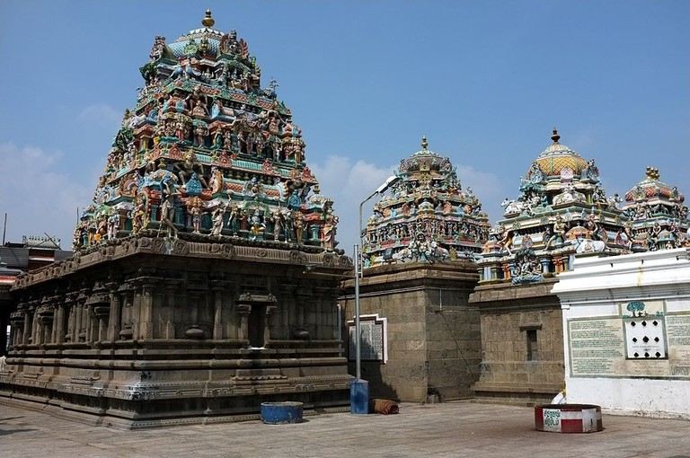 Kapaleeswarar Temple in Mylapore is one of the most important religious and architectural landmarks in Chennai