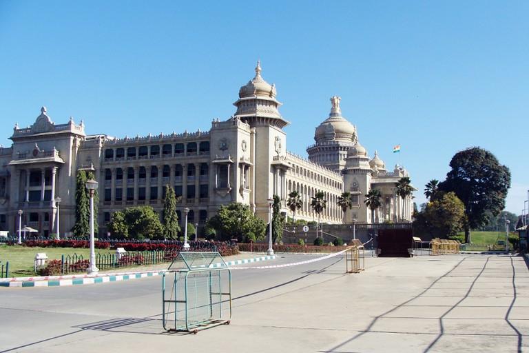 Vidhana Soudha is home to the State Legislature of Karnataka
