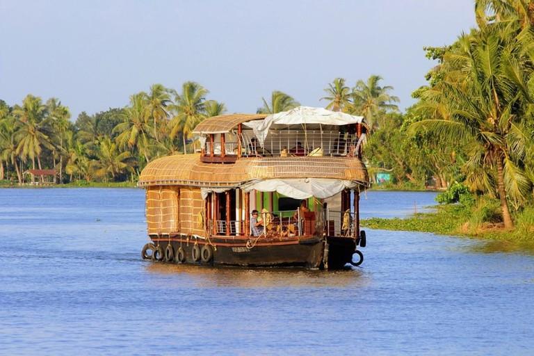 Kerala houseboat, Alleppey