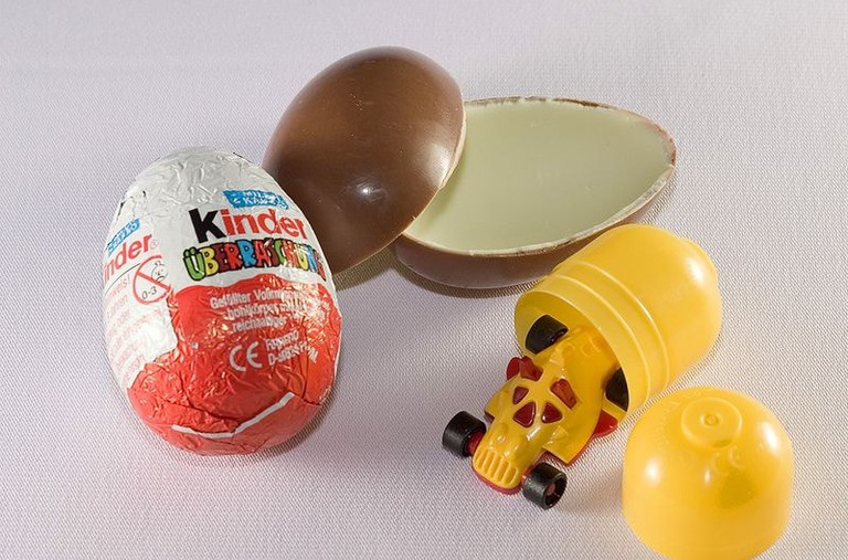 Kinder eggs are banned