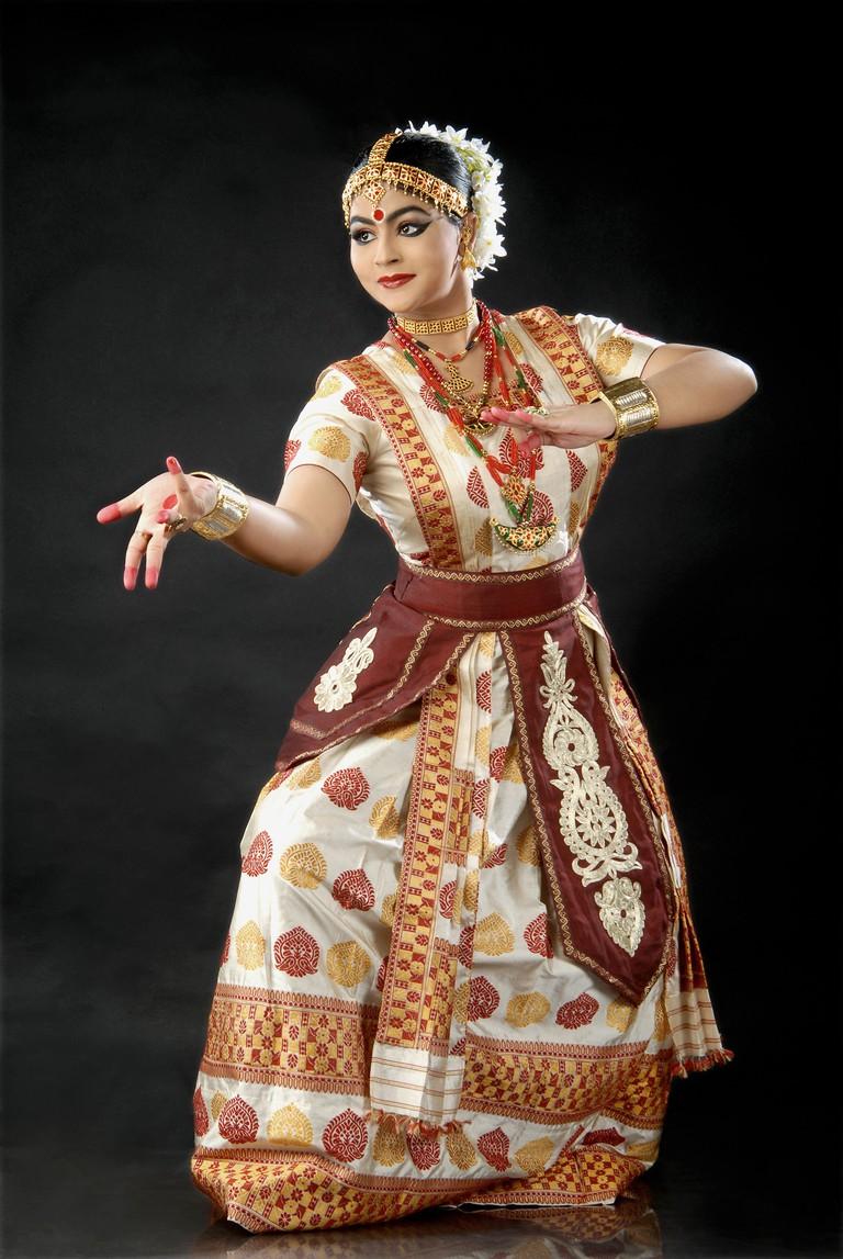 Krishnakahi_Kashyap_performing_Sattriya_Dance