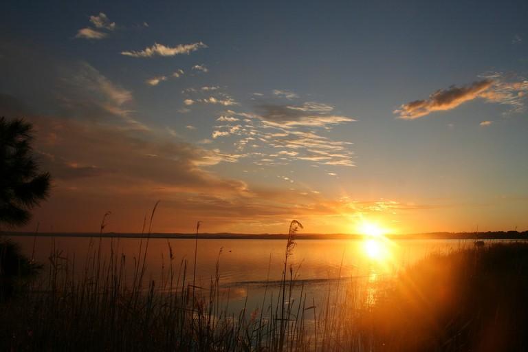 Lake Tuggerah sunset   © Takver:Flickr