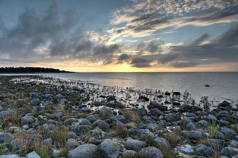 Sunset, Öland