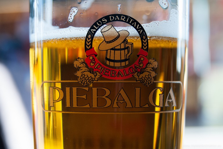 Latvian beer