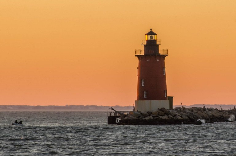 Delaware's Breakwater East End Light lighthouse