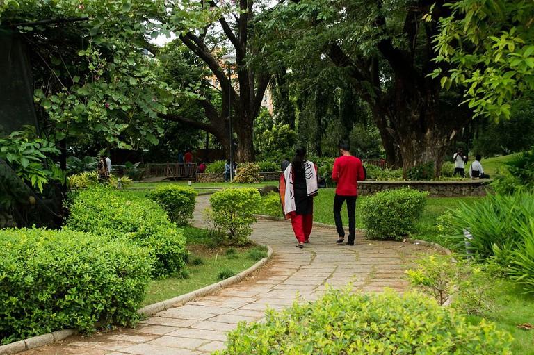 Semmozhi Poonga Park in Chennai, Tamil Nadu