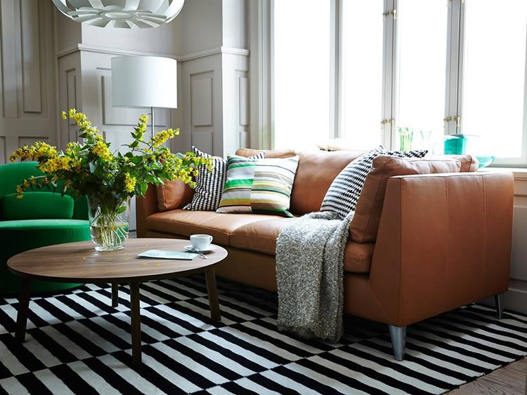 Living room with IKEA furniture | Courtesy of IKEA Norge