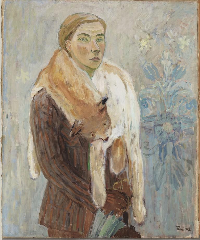 Tove Jansson, Lynx Boa (Self- Portrait), 1942
