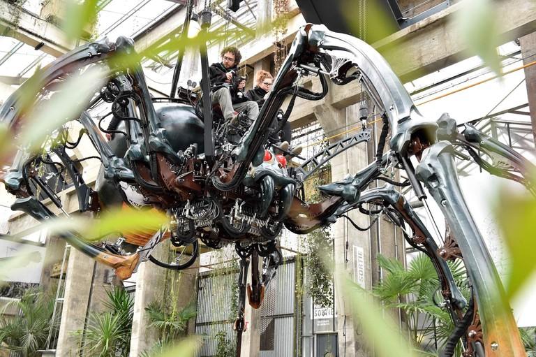 The spider of Les Machines de L'Île in Nantes © Jean-Dominique Billaud/LVAN