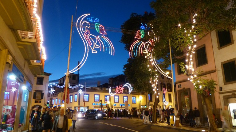 Funchal Madeira's Christmas and New Years festivities are world renowned