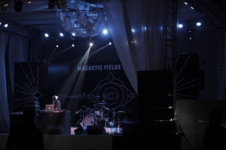 Magnetic Fields Festival is a three-day music festival in Alsisar Palace