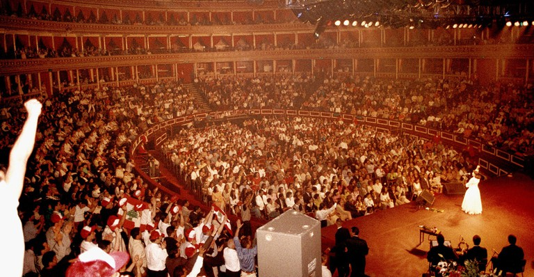 Majida El Roumi at the Royal Albert Hall