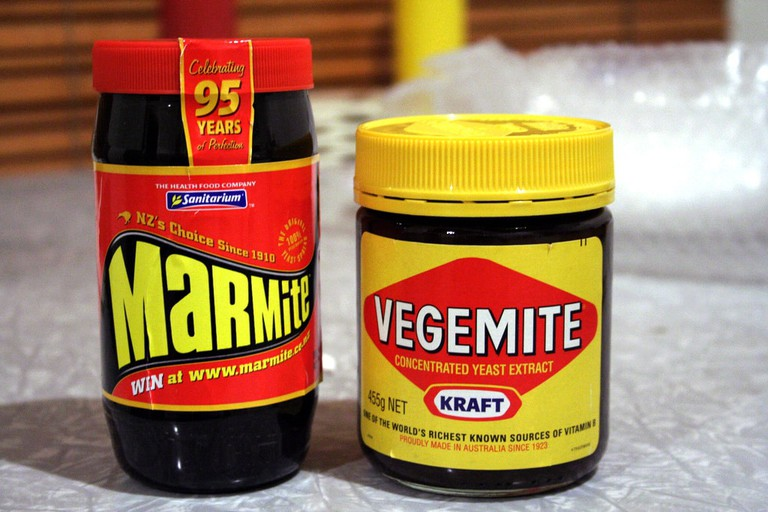 Marmite and Vegemite | © AZ Adam_Wikimedia Commons