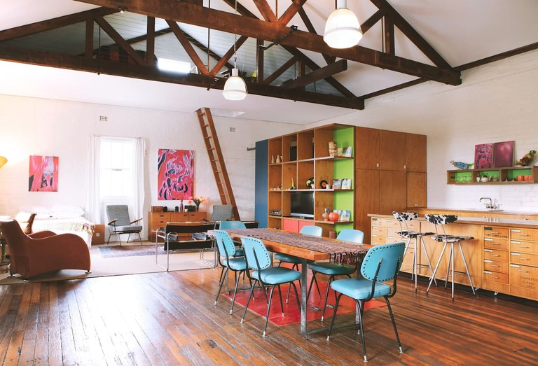 Massive Warehouse Loft Apartment | © Airbnb