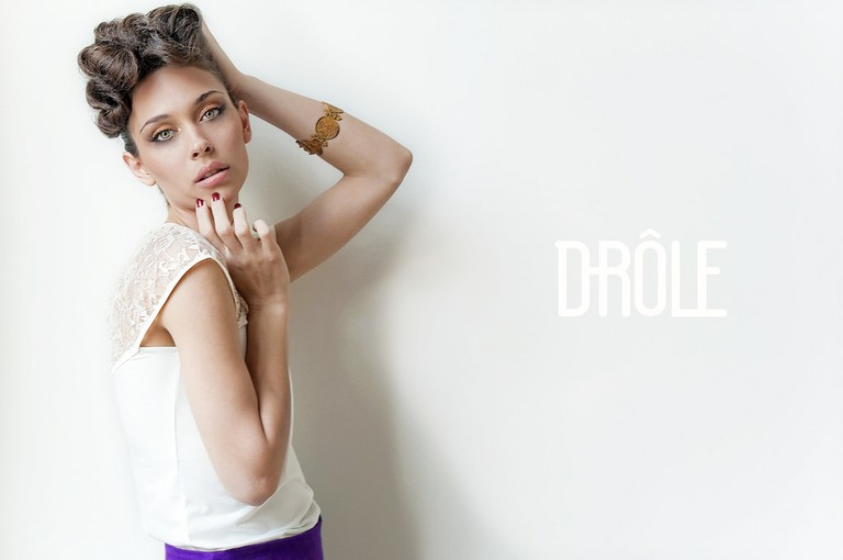 Ad for Buenos Aires fashion brand Drole