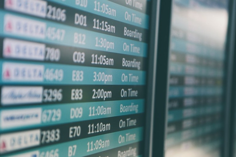 If your flight's delayed, there might just be a solution
