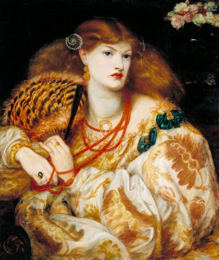 Monna Vanna (1866) by Dante Gabriel Rossetti