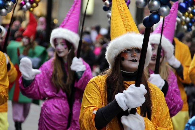 Le défilé du Père Noël, Montreal