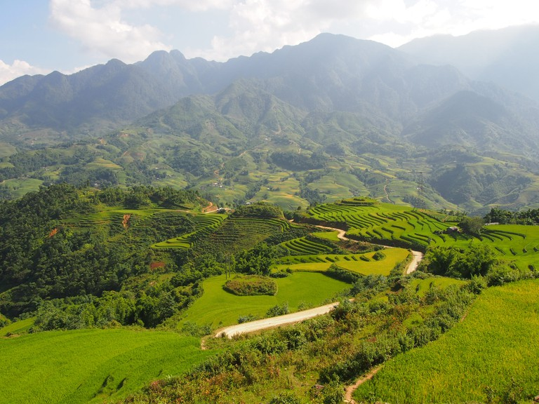 View of Fansipan from Sapa City | © Matthew Pike