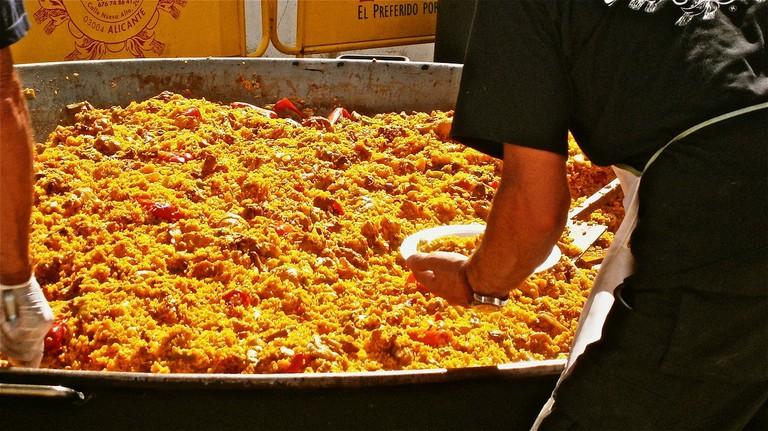 Try Spanish paella I